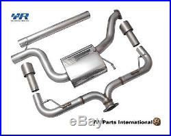 VW Golf MK7 GTI Cat-Back Exhaust System Volkswagen Racing Parts
